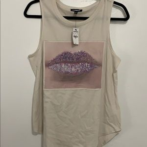Express Graphic Tank Top